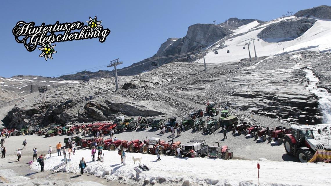 Hintertuxer Gletscherkönig Zillertal Tirol Österreich