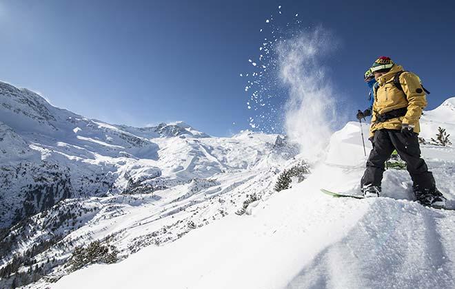 Skifahren Hintertux Mayrhofen Zillertal Fügen Tirol Österreich