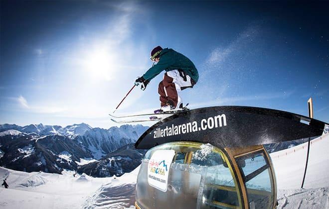 Skigebiet Zillertalarena Gerlos Zell am Ziller Snowboarden