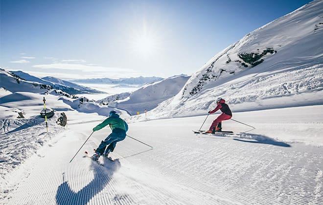 Zillertalarena-Skifahren-Pisten-Wetter-Hotel-Pension