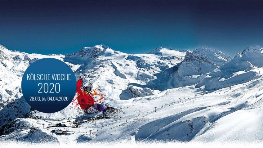 16. Kölsche Woche in Hintertux 2020 mit Open Air am Sommerberg